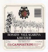 Rosato Vallagarina Kretzer - Casa Vinicola Fratelli Campostrini - Sabbionara D'Avio (Trento)  - (FDC5119) - Vino Rosato