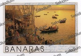 BANARAS NEPAL Storia Postale - XXL Card - Big Format - Nepal