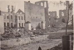 Foto Judenviertel In Bialystok Kurz Nach Dem Einmarsch - Russland Polen Judaika - Juli 1941 - 8*5cm (29618) - Guerre, Militaire