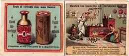 Avant 1900 Booklet, 7,5cmX6,5cm Brasserie LE LION  Litho Seghers, 12 Images ZACHERI à Vienne WIEN Insect EXTERMINATION - Autriche