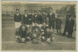 Paris Vers 1924. Carte Photo équipe De Football. - Fútbol