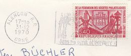 1970 FRANCE COVER Stamps LENS MINING , MINERS LAMP To Germany Coal Energy Minerals - Minéraux