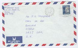 1990 HONG KONG COVER Stamps 2.40 To GB China - Hong Kong (...-1997)