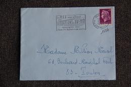 Timbre Sur Lettre : Y Et  T : N°1536 - 1961-....