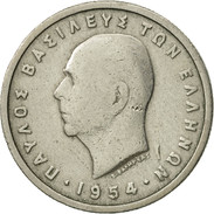 Grèce, Paul I, Drachma, 1954, TB+, Copper-nickel, KM:81 - Grèce