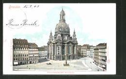AK Dresden, Frauenkirche Mit Neumarkt - Dresden