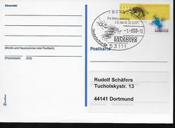 ALLEMAGNE   Carte FDC   2000  Exposition Universelle A Hanovre - 2000 – Hannover (Duitsland)