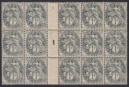 FRANCE Francia Frankreich - 1901 - MILLESIMES - Gruppo Di Quindici Yvert 107 - VEDERE DESCRIZIONE - Millesimi