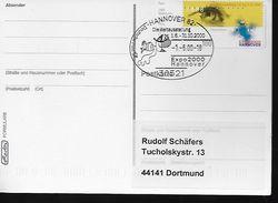 ALLEMAGNE    Carte  Hannover 2000 Expo Universelle - 2000 – Hanovre (Allemagne)