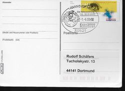 ALLEMAGNE    Carte  Hannover 2000 Expo Universelle - 2000 – Hannover (Deutschland)