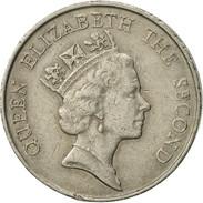 Hong Kong, Elizabeth II, 5 Dollars, 1987, TTB, Copper-nickel, KM:56 - Hong Kong