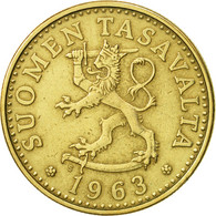 Finlande, 20 Pennia, 1963, TTB+, Aluminum-Bronze, KM:47 - Finlande