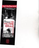 MARQUE PAGES UNE VICTIME IDEALE PAR MCDERMID - Marque-Pages