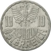 Autriche, 10 Groschen, 1966, Vienna, TTB+, Aluminium, KM:2878 - Autriche