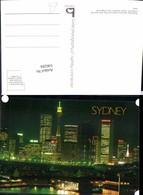 546284,Australia Sydney Skyline Hochhäuser Wolkenkratzer Pier One - Ansichtskarten