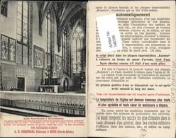 546596,Reklame AK W. Andernach Anvin Aix La Chapelle Eglise St. Nicolas - Werbepostkarten