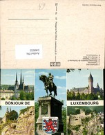 546632,Luxembourg Luxemburg Mehrbild - Ansichtskarten