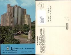 546792,Canada Montreal Quebec Hotel Laurentien - Kanada