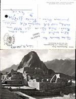 546841,Peru Machupicchu Las Ruinas Huainapicchu Lima Vintage Postcard - Peru