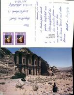 546360,Africa Jordania Jordan Petra The Monastery - Ansichtskarten