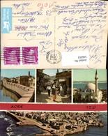 546363,Africa Israel Acre Jazzar Moschee Mosque Market City Wall - Ansichtskarten