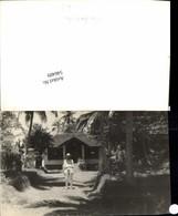 546489,Foto-AK Cambodia Kambodscha Palmen Haus - Ansichtskarten