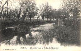 Mettet - Chemin Vers Le Bois Du Quartier (G. H., 1908) - Mettet