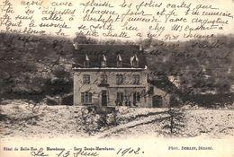 Mettet Hôtel De Belle-Vue Maredsous (phot. Dorlin, 1902...pharmacien Militaire, Bourg Léopold) - Anhée