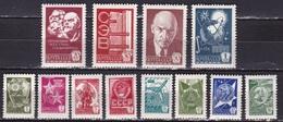 Rusland Russia 1977 Symbols MNH Complete Set  Michel 4629 / 4640 - 1923-1991 USSR
