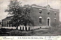 Okla. - US Federal Jail McAlester (animation, 1909) - Etats-Unis