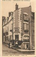 A-17.7403 :  BLOIS RESTAURANT DES GOURMETS  PARIS'S HOTEL . RUE DU BOURG-NEUF - Blois
