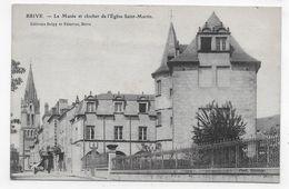 BRIVE - LE MUSEE ET CLOCHER DE L' EGLISE SAINT MARTIN - CPA NON VOYAGEE - Brive La Gaillarde