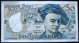France - 50 Francs Quentin De La Tour 1984 Alphabet C 39 N° 279663 Neuf Splendide - 50 F 1976-1992 ''Quentin De La Tour''