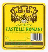 Castelli Romani -Casa Vinicola Fratelli Campostrini - Sabbionara D'Avio (Trento)  - (FDC5132) - Witte Wijn