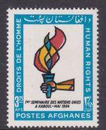 Afghanistan SG 519 1964 Human Rights MNH - Afghanistan