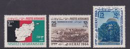 Afghanistan SG 524-526 1964 Tourist Publicity MNH - Afghanistan