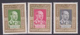 Afghanistan SG 534-536 1964 King 50th Birthday MNH - Afghanistan