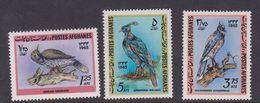 Afghanistan SG 543-545 1965 Birds MNH - Afghanistan