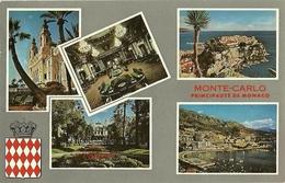 TARJETA POSTAL  MONTECARLO MONACO    PRINCIPADO DE MONACO - Monte-Carlo