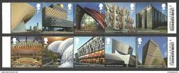 GB 2017 LANDMARK BUILDINGS ARCHITECTURE EDEN PROJECT SET MNH - Nuovi