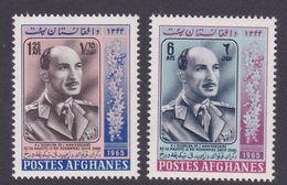 Afghanistan SG 557-558 1965 King 51st Birthday MNH - Afghanistan