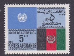 Afghanistan SG 560 1965 United Nation Day MNH - Afghanistan