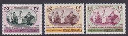 Afghanistan SG 583-585 1966 Child Welfare Day MNH - Afghanistan