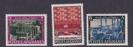 Afghanistan SG 586-588 1967 Industries MNH - Afghanistan