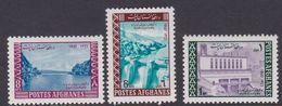 Afghanistan SG 597-599 1967 Electricity MNH - Afghanistan