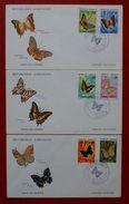 Butterflies Papillons Schmetterlinge Gabonaise Gabun 1973 FDC - Schmetterlinge