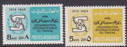 Afghanistan SG 619-620 1968 20th Anniversary Of W.H.O. MNH - Afghanistan