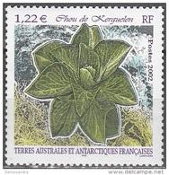 TAAF 2002 Yvert 333 Neuf ** Cote (2015) 4.80 Euro Chou De Kerguelen - Terres Australes Et Antarctiques Françaises (TAAF)