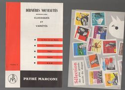 Catalogue Disques Microsillons PATHE MARCONI + Doc Couleur (PPP5617) - Advertising