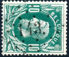N° 30, Obl Concours 'LP143' Gedinne, Nipa +10? - 1869-1883 Léopold II